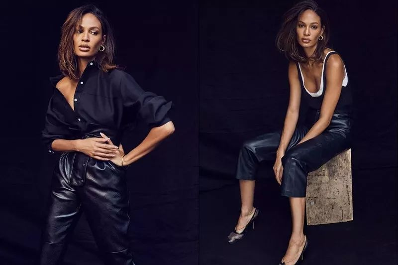 因为本身的材质和款式带来的刻板印象,皮裤总会让人觉得太过夸张,   离「职场」两个字有些太远。   直到前阵子看了 Net-A-Porter 的封面人物专访,Joan Smalls 穿着皮裤实